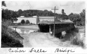 Cedar Falls Covered Bridge and Factory