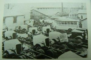 Bolick bus bodies, Conover, NC, circa 1935