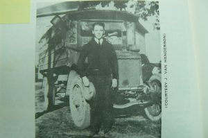 J. Van Henderson and his Liberty School Bus