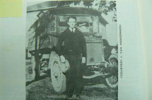 J. Van Henderson and his Liberty School Bus