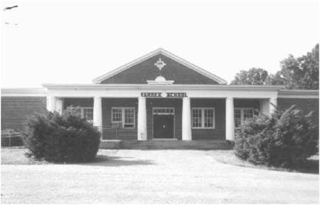 Farmer School, built 1924.