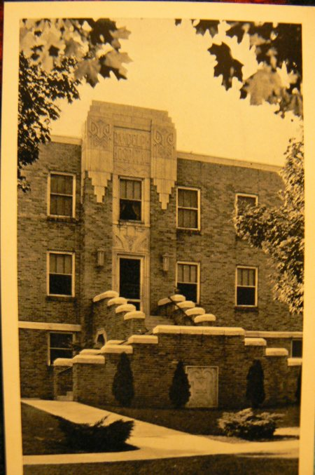 Randolph Hospital Postcard circa 1940