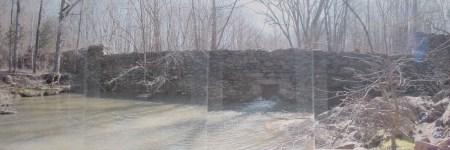 Caraway Creek Dam panorama