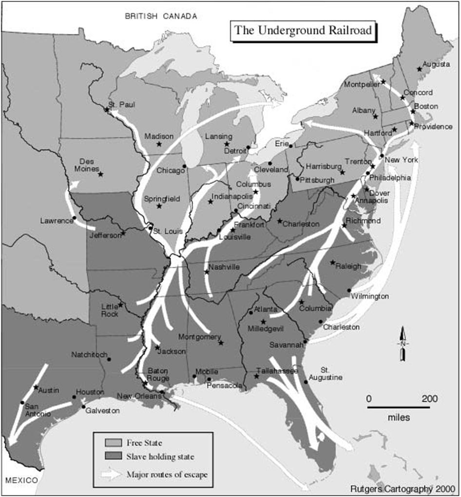 a history of the underground railroad in the united states