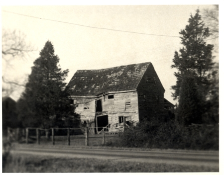 New Market Inn, from the southeast, circa 1950.