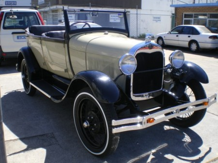 1927 was the first production year for the Model A Ford.