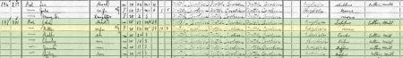 Poole 1910 Census Alamance