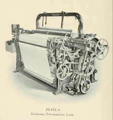 This was the standard loom made by the Stafford Company, of Readville, Mass., after 1900.