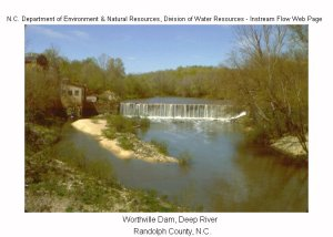 Worthville_Mill_dam_Deep_River