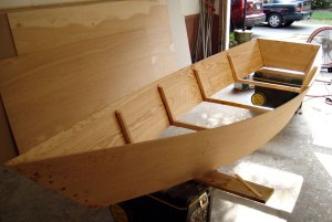 Construction of a Bayou Skiff