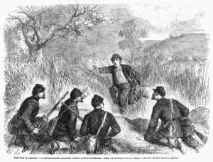 A civil war deserter