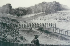 Prisoners in the Stockade at Florence SC