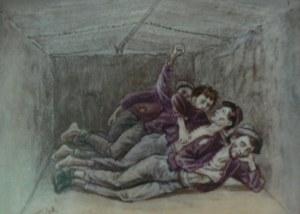 """POWs living in a """"shebang"""" at Florence"""