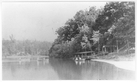 Worthville Boat House, ca. 1912