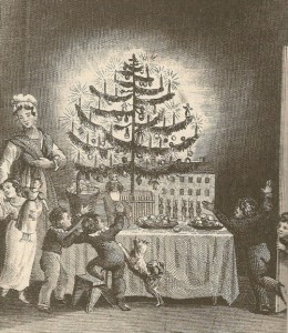 1836-The Strangers Gift Boston first american-christmas-tree
