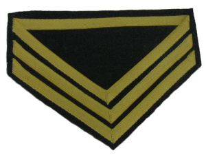 Sleeve Chevron of US Cavalry Company Quartermaster Sergeant