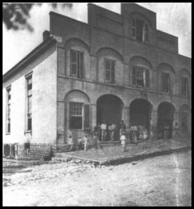 Cumberland Presbyterian Church was the 3rd building of Hospital No. 8.  It had 144 beds.