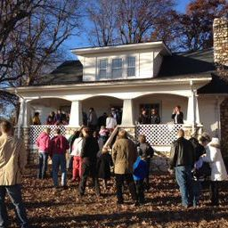 Toomes Reunion at the Toomes-Petty House, Level Cross, Nov. 1913
