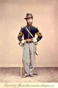 A US Army Quartermaster Sergeant, ca. 1864