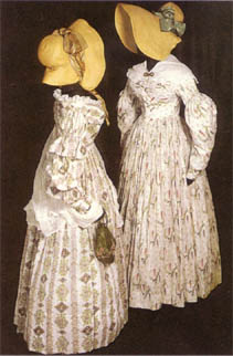 Summer gowns 1840