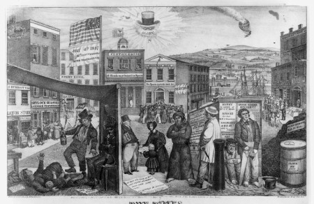 Panic in New York 1838