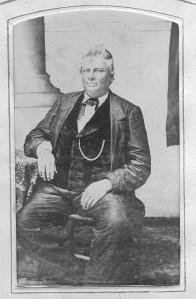 Alexander S. Horney, circa 1870.