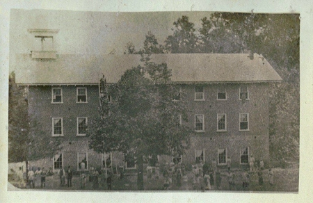 The Franklinsville Factory, as rebuilt after the 1851 fire.