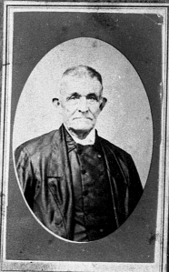 Elisha Coffin, circa 1860.