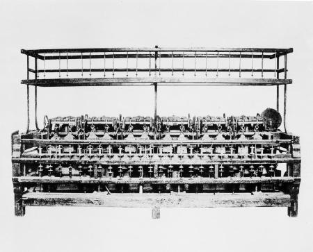 Samuel Slater Spinning Frame 1790s