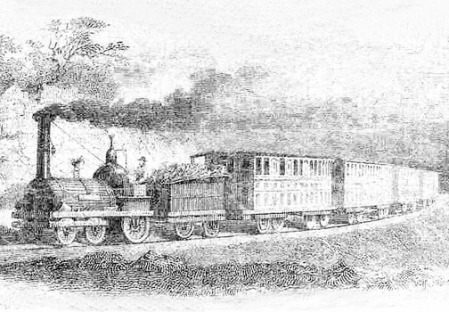 Central Georgia Railroad 1840s