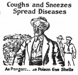 Flu dangerous as poison gas