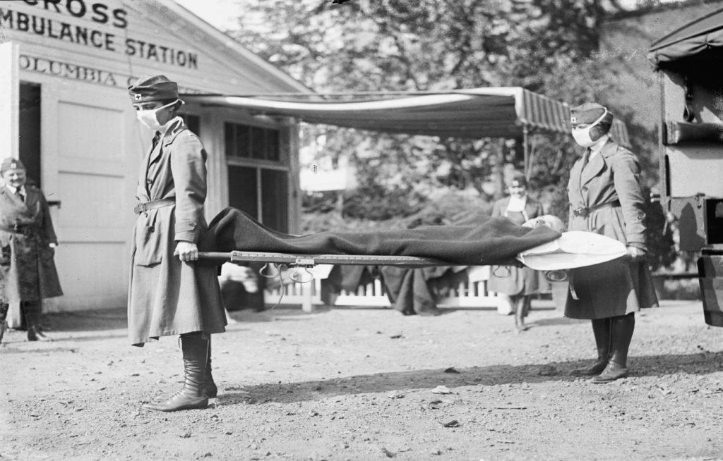 Sp Flu ambulance station